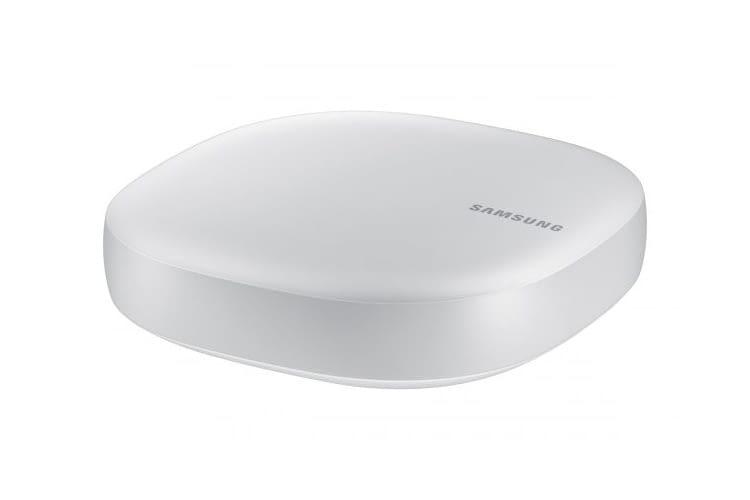 Der SmartThings Hub V3 unterstützt die Funkstandards Bluetooth, ZigBee und Z-Wave