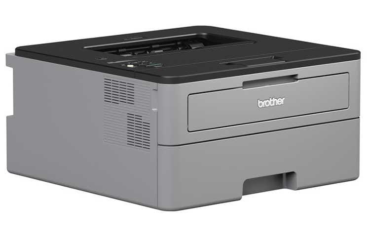 Der Laserdrucker Brother HL L2350DW bietet automatischen Duplexdruck