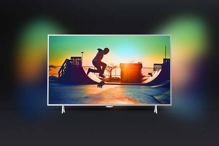 Philips Smart TV 32PFS6402-12 mit Abilight Effekt