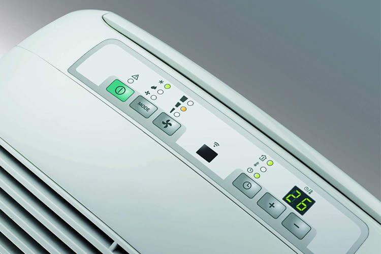 Das Soft-Touch-Display zeigt alle wichtigen Einstellungsoptionen auf einen Blick