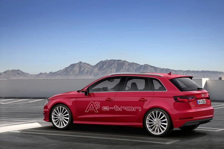 Audi A3 Sportback e-tron Hybridsportler aus Ingolstadt hat eine rein elektrische Reicheweite von 50km