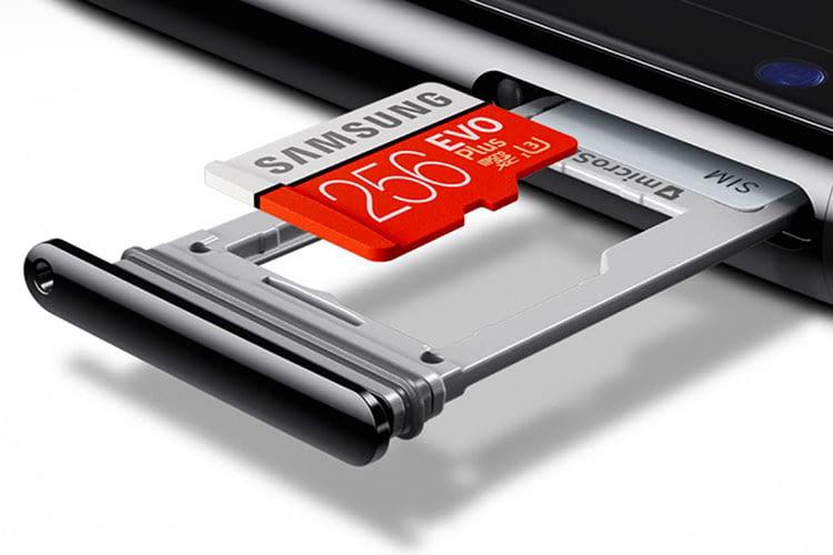 Der Speicher von Samsung Galaxy S8 und S8+ lässt sich nachträglich per Speicherkarte erweitern