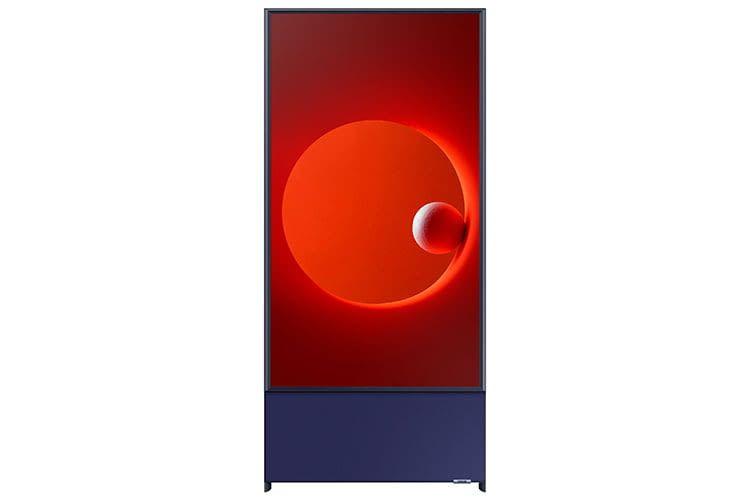 Samsung präsentiert auf der CES 2020 den schwenkbaren TV-Bildschirm The Sero