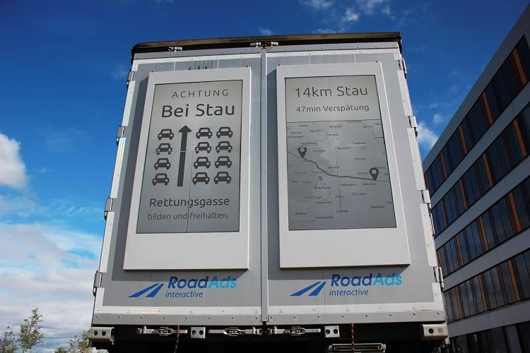 Auch für Verkehrshinweise und Stauwarnungen eignen sich die ePaper-Displays