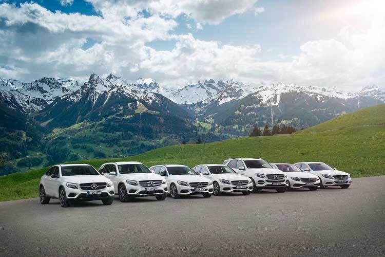 Die Plug-In Hybride von Mercedes-Benz: S 500 e, E 350 e, GLE 500 e, C 350 e, GLC 350 e und GLC 350 e Coupé