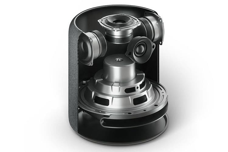 Amazon Echo Studio im Test: Insgesamt fünf Treiber sorgen für exzellenten 3D-Raumsound