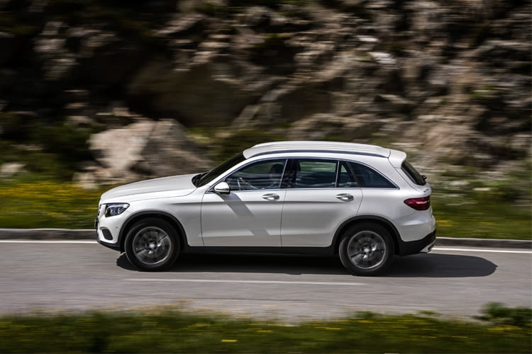 Das Elektroauto von Mercedes erreicht eine Höchstgeschwindigkeit von 235 km/h