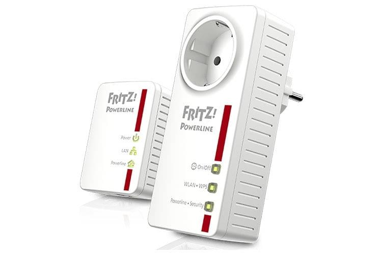 Für das volle Potenzial: FRITZ!Powerline Starterset mit FRITZ!Powerline 546E und 510E