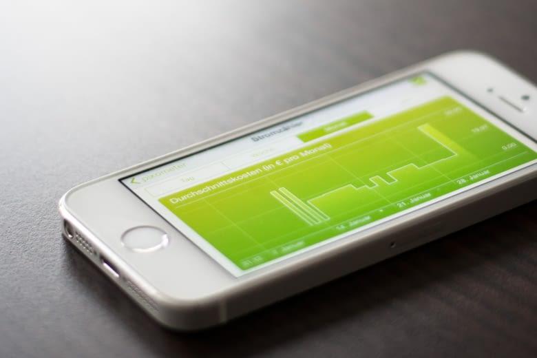 Privathaushalte können mit pixometer das Verbrauchsverhalten visualisieren
