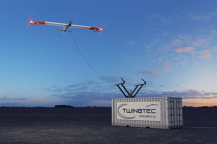 Start, Landung und Energiegewinnung erledigt TwinTec TT100 vollautomatisch