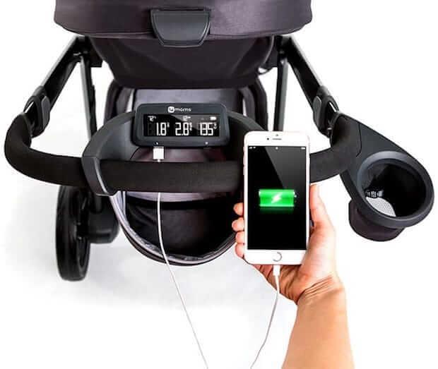 moxi Kinderwagen von 4moms mit Smartphone Ladebuchse