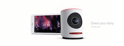 Bild der Movi 4K Kamera / Camera mit Smartphone App