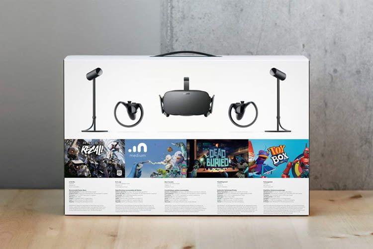 Im Lieferumfang sind bei diesem Bundle neben der VR-Brille auch zwei Touch-Controller enthalten