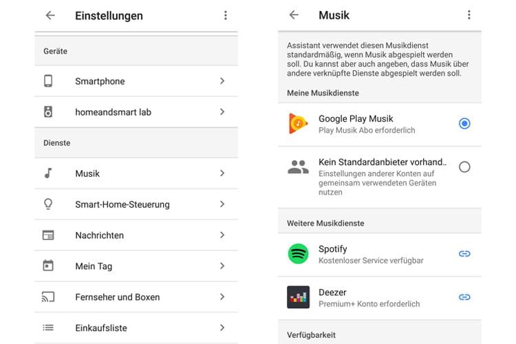 Anleitung in zwei Schritten: Spotify mit Google Home verbinden