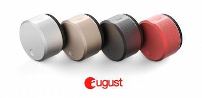 Abbildung August Smart Lock in verschiedenen Farben