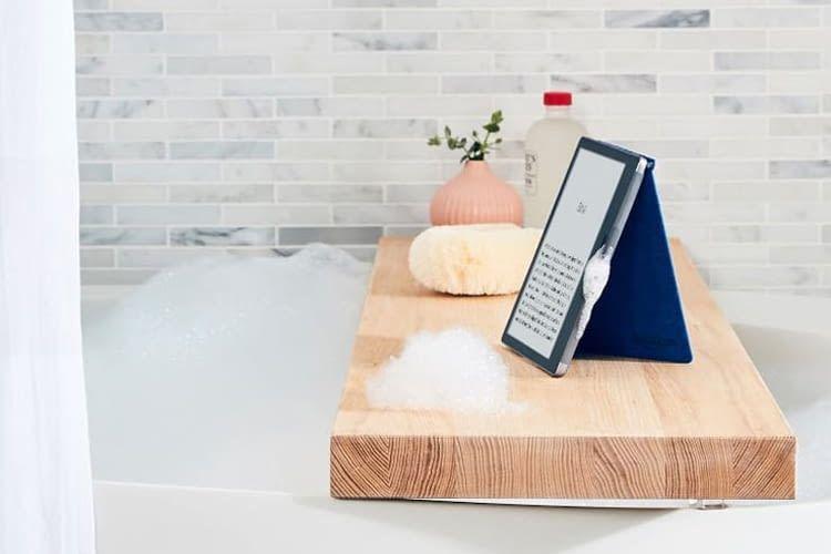 Nie wieder nasse Seiten! eReader Kindle Oasis übersteht Wasserspritzer mühelos
