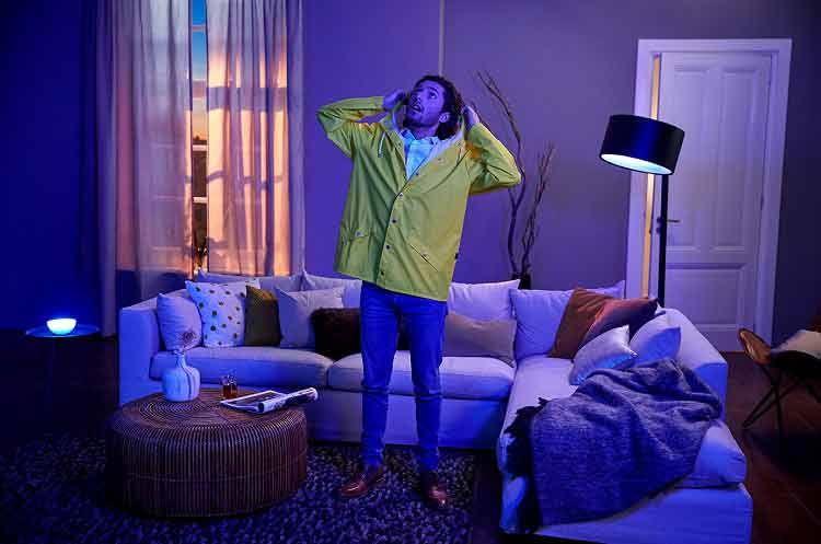 Neue Funktionen für Philips Hue: Mithilfe von IFTTT können die Lampen beispielsweise auf das Wetter reagieren