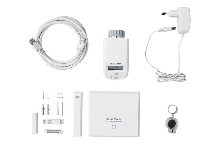 Mit dem smarten Lidl Thermostat Starter-Kit ist zeitgesteuertes Heizen möglich