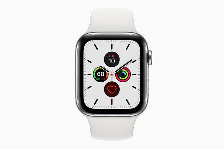 Das neue Apple Watch Series 5 Ziffernblatt-Design Meridian