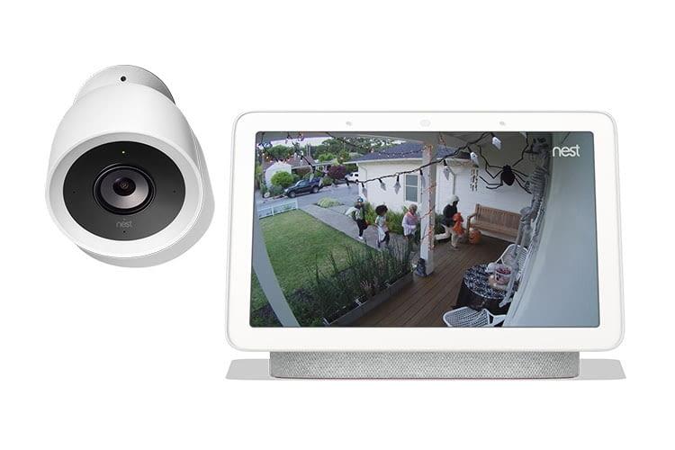 Das Display von Google Home Hub wird zum Türspion