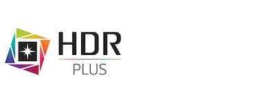 Abbildung des HDR Plus Logo von LG