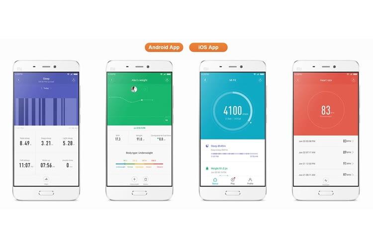 Die dazugehörige App ist für Android- oder iOS-Betriebssysteme verfügbar
