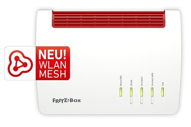 Die FRITZ!Box 7590 bietet Mesh-Funktionalität