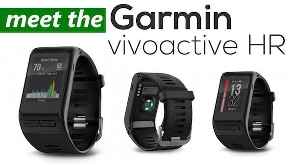 Abbildung des vivoactive HR Fitness-Tracker
