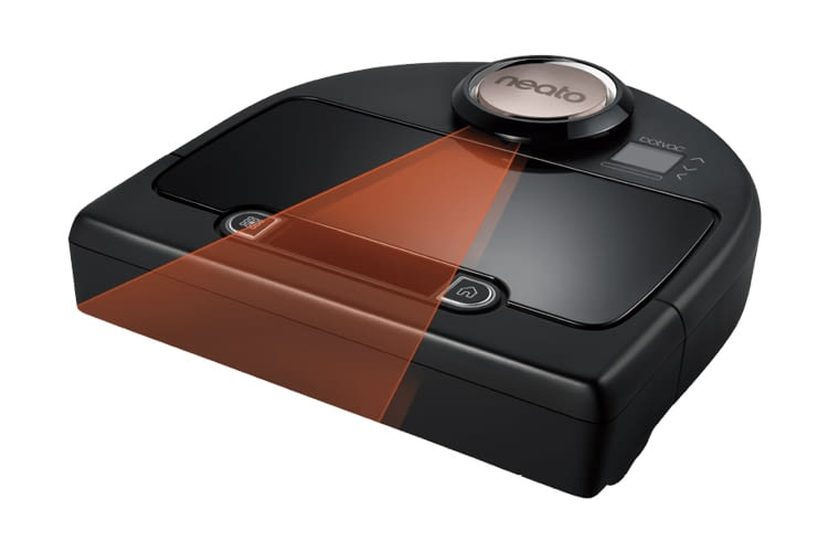 Die Orientierung erfolgt bei diesem Saugroboter per 360-Grad-Laser
