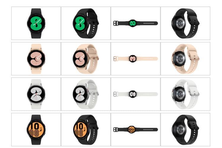 Bei den vielen Designs der Galaxy Watch 4 wird jeder fündig