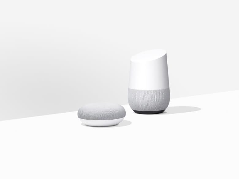 Mit Google Home und Google Home Mini lässt sich die Musikwiedergabe per Sprache steuern