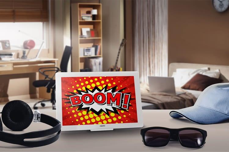 Was aussieht wie ein Bilderrahmen, ist in Wirklichkeit ein smarter Gestensensor für das Smart Home