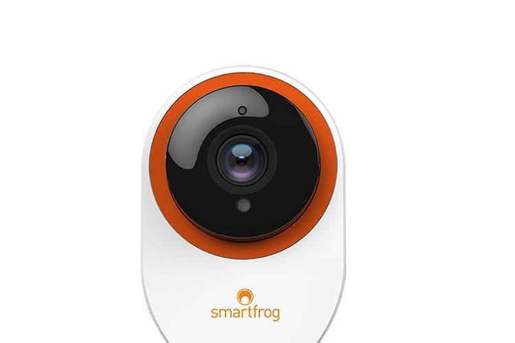 Die Smartfrog Cam verfügt über 8-fachen Zoom