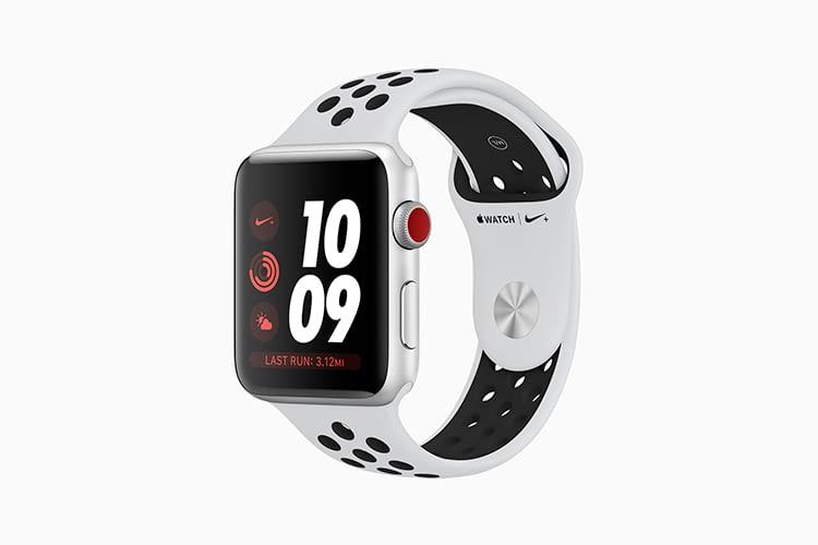 Apple Watch 3 GPS + Cellular in der Nike-Edition