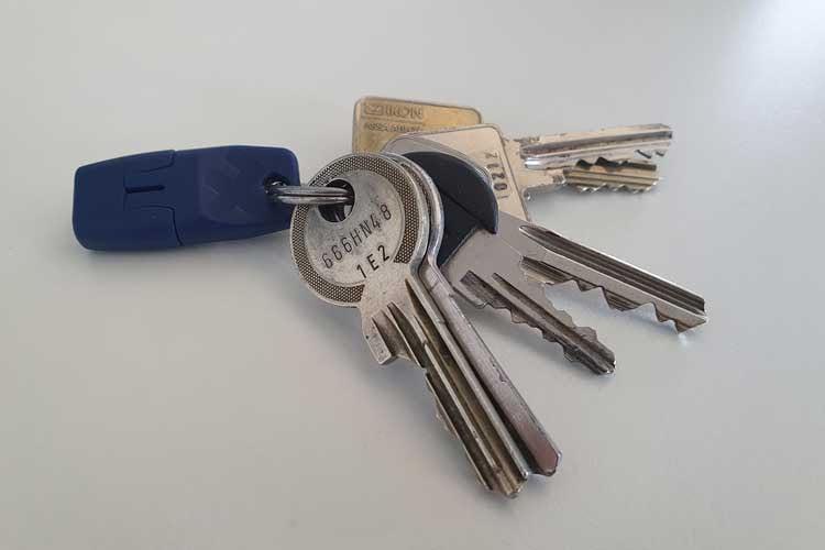 heat-it ist so klein, dass er sich einfach am Schlüsselbund befestigen lässt und immer dabei ist