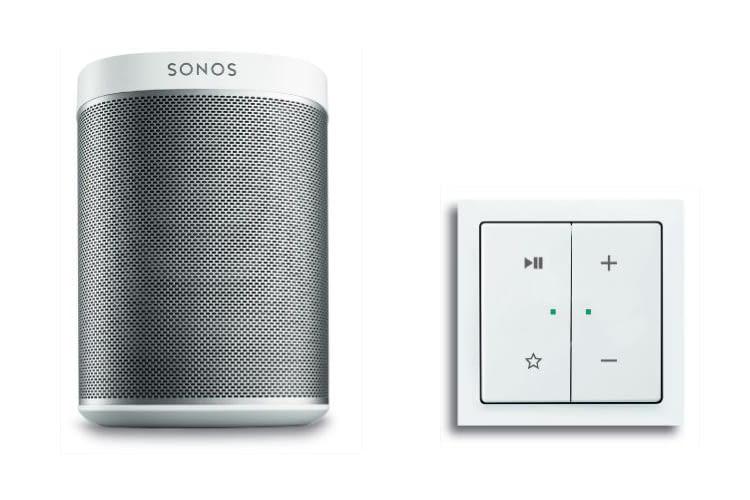 Sonos Multiroom und Amazon Alexa sind mit Busch-free@home kompatibel
