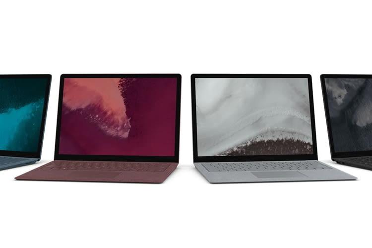 Microsofts Surface Laptop 2 überzeugt vor allem mit seinem hervorragenden Display