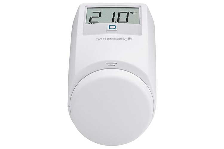 Das Homematic IP Thermostat von eQ3 lässt sich auch manuell ohne App bedienen