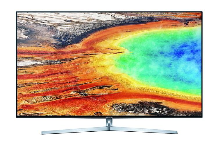 Der Samsung MU8009 Fernseher verfügt über Ultra HD, Twin Tuner und HDR 1000