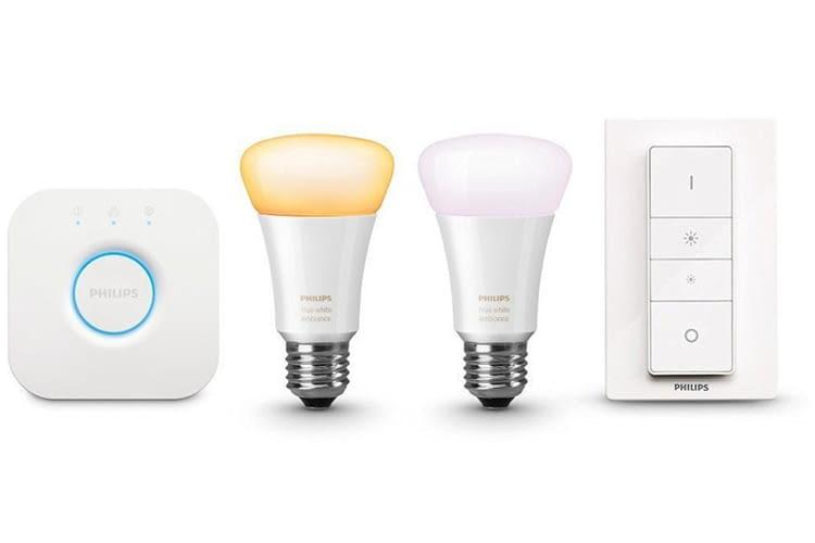 Dieses Starter Set ist eine tolle Geschenkidee für alle Technikfans ohne Smart Home Erfahrung
