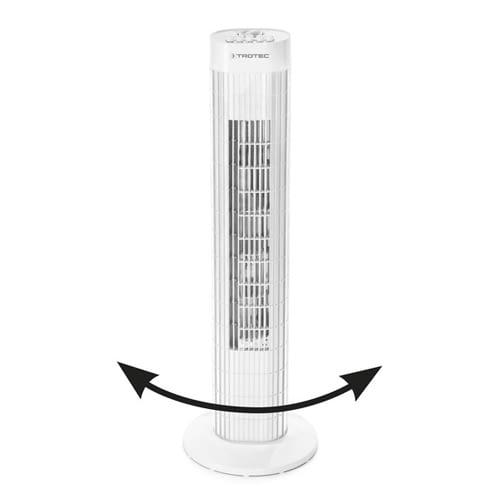 Turmventilator Trotec TVE 30 T ventiliert mit 80 Grad-Oszillation