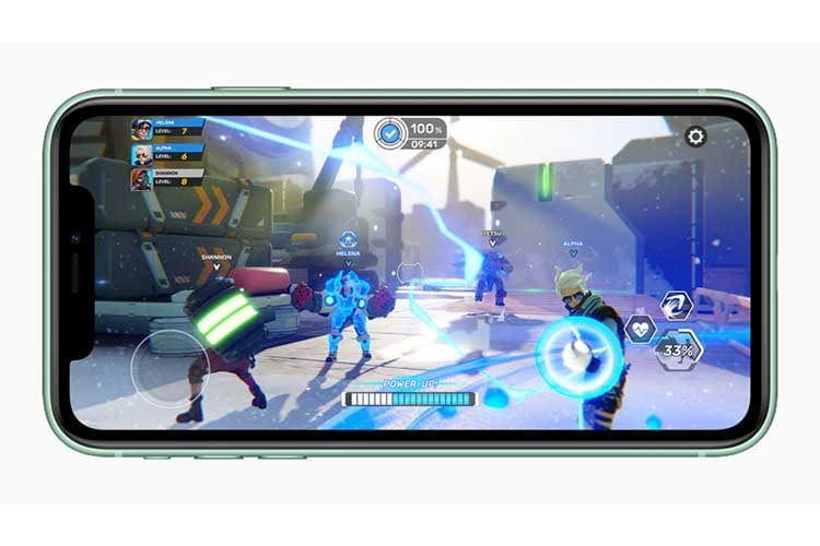 Apples schneller A13 Bionic Chip der 3. Generation sorgt für schnelle Performance im iPhone 11