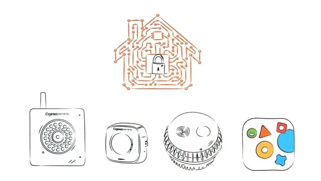 Der Universalsensor ist nur eine von vielen Komponenten des modular aufgebauten Sicherheitssystems von Gigaset