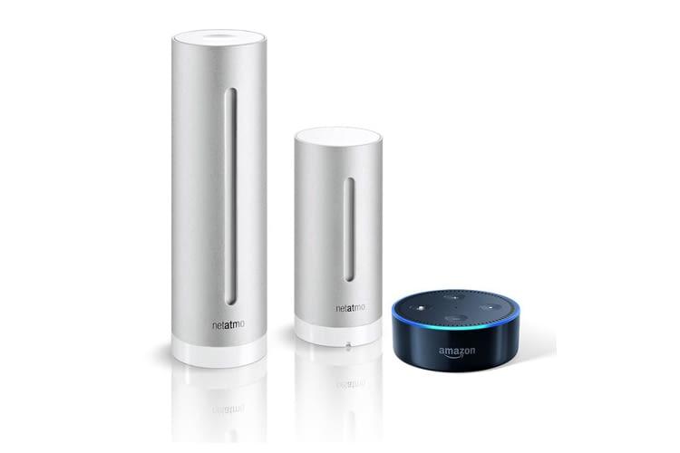 Günstig wie nie: Das Bundle aus Amazon Echo Dot (2. Generation) und der Netatmo Wetterstation