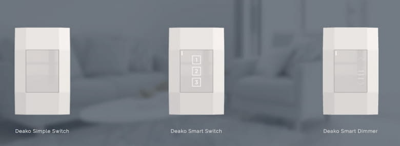 Deako Smart Lighting Switches