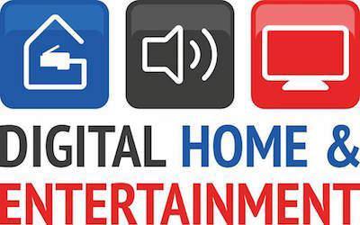 Logo von der Digital Home & Entertainment Ausstellung auf der Saarmesse 2015