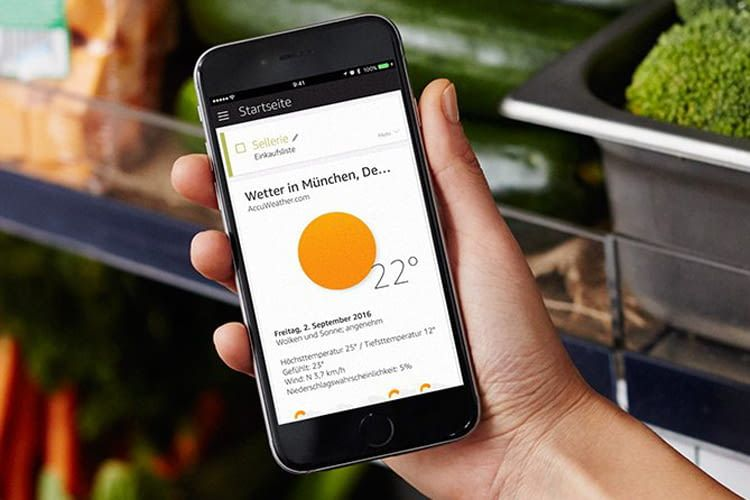 Echo Dot ist vor allem auf Sprachbefehle ausgerichtet, kann aber auch per App konfiguriert werden