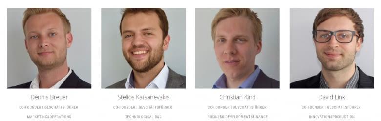 """Das Gründerteam von nevisQ gewinnt Start-up Challenge """"Altenpflege 2017"""""""