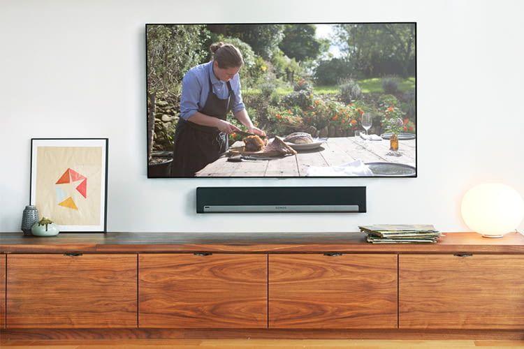 Sonos PLAYBAR TV-Lautsprecher zur Wandmontage