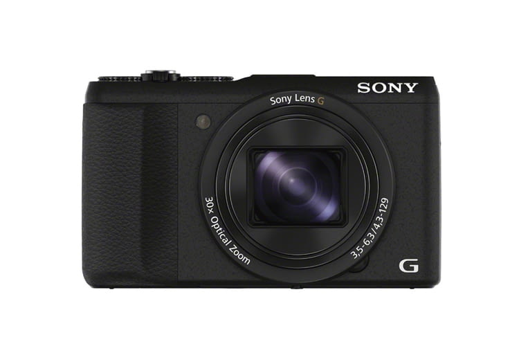 Die Sony DSC-HX60 Digitalkamera hat einen 7,5 cm (3 Zoll) LCD-Display